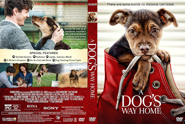 A Dog's Way Home DVD Cover