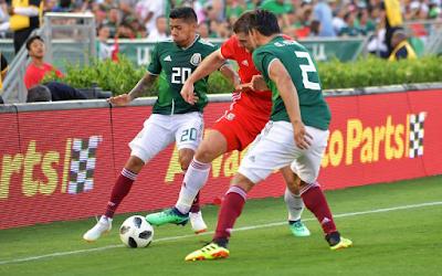 México empata con Gales