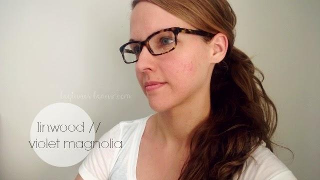 Warby Parker eyewear: linwood // violet magnolia