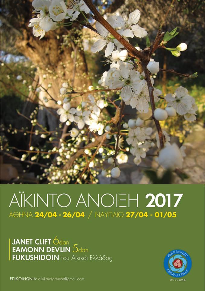Aikido Spring Festival ~ Φεστιβάλ Αϊκιντο Άνοιξη
