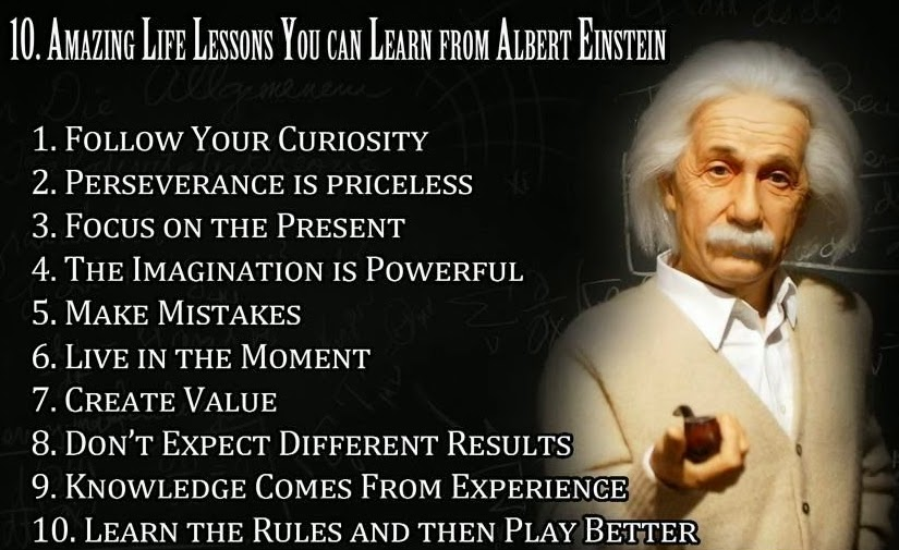 life quotes albert eistein