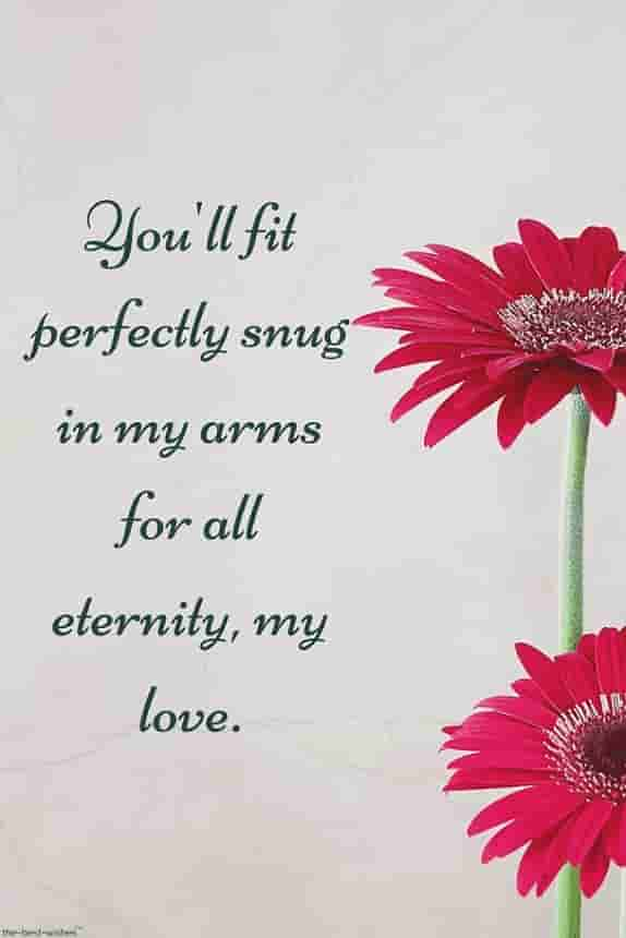 deep passionate love quotes with flowers