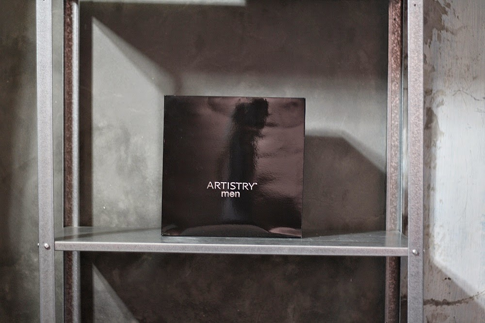 ARTISTRY MEN SKIN CARE AMWAY INDONESIA BY DELUXSHIONIST LUXURY GROOMING REVIEW