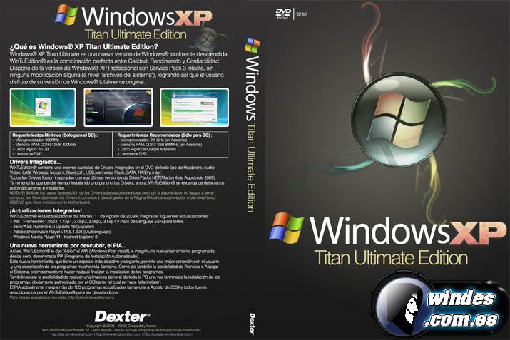 descargar windows xp iso gratis en español completo