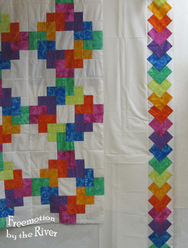 Rainbow's End quilt
