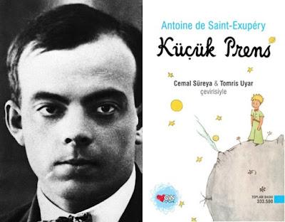 küçük prens antoine De Saint-Exupery,