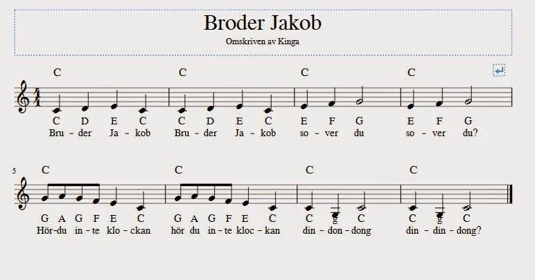 Gratis noter svenska låtar