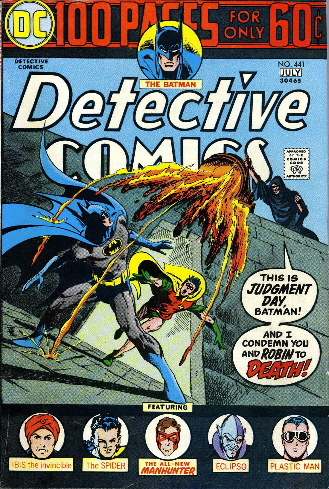 Detective Comics (1937) 441 Page 1