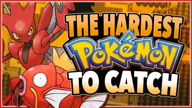 15 Hardest Pokemon to Catch