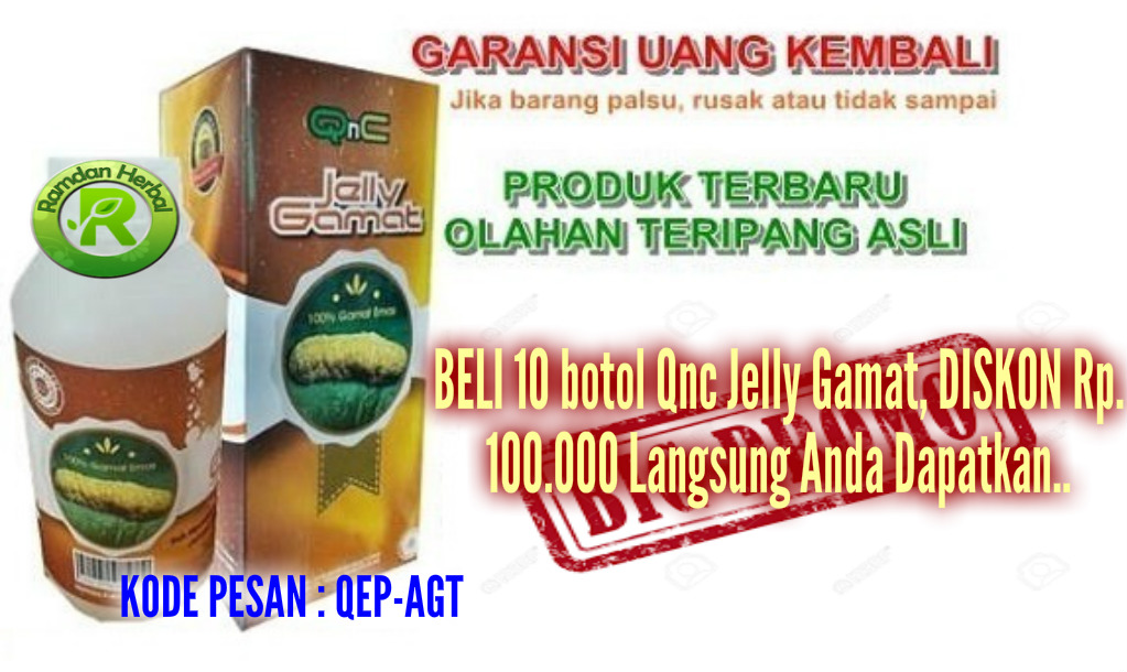 Agen Qnc Jelly Gamat Di Tabalong