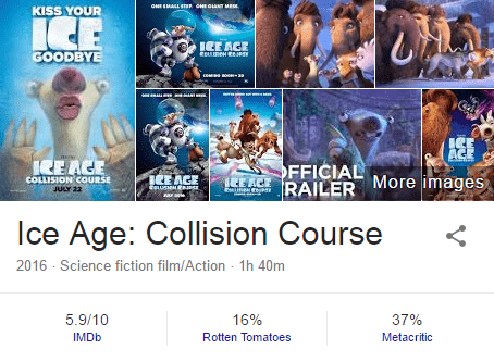 Download Ice age 5 collision course(2016) in Hd Hindi Dubbed