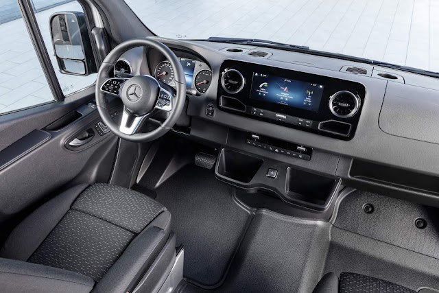 Mercedes-Benz Sprinter 2019 - interior - painel