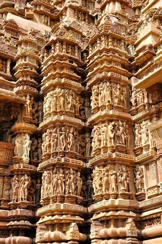 Amudu kamasutra temple khajuraho india