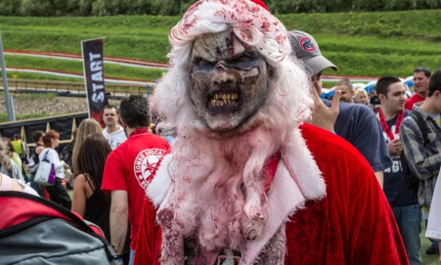Zombie Santa Claus Costume