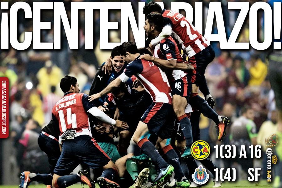 Copa MX : CF América 1(3)-(4)1 CD Guadalajara - Apertura 2016 - Semifinal.