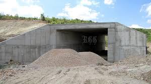 Подпорни стени надлез-Фирма Строителен лидер Варна