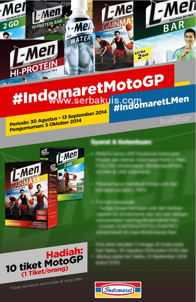 Kontes Kreasi Kemasan Produk L-Men Berhadiah 10 Tiket MotoGP