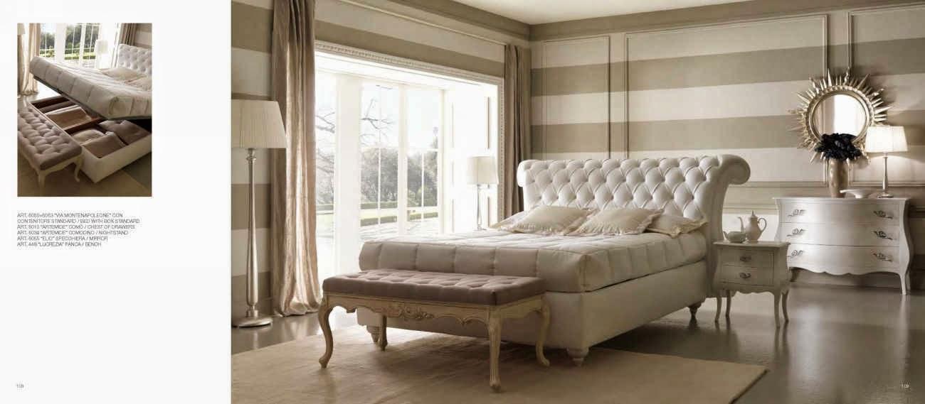 Design interior mobila dormitor de lux Italia - Design Interior | Amenajari interioare - Bucuresti | Mobila Italiana - mobila lux italia pat Viamontenapoleone