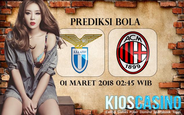 Prediksi Skor Lazio vs AC Milan 01 Maret 2018