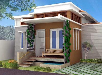 warna rumah minimalis di depan