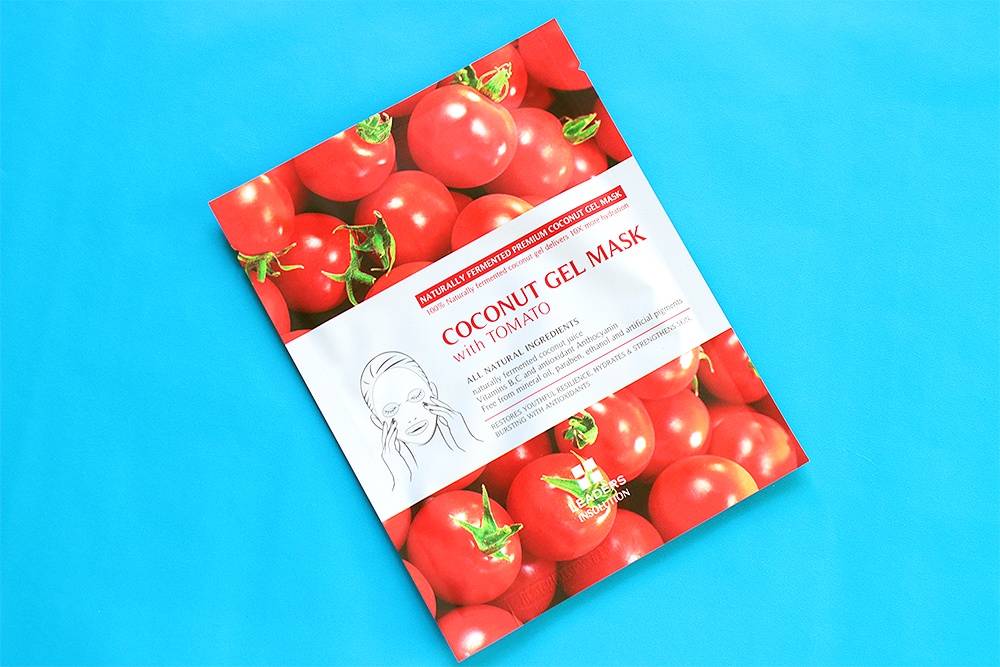 Leaders Insolution Superfood Coconut Gel Tomato Mask review