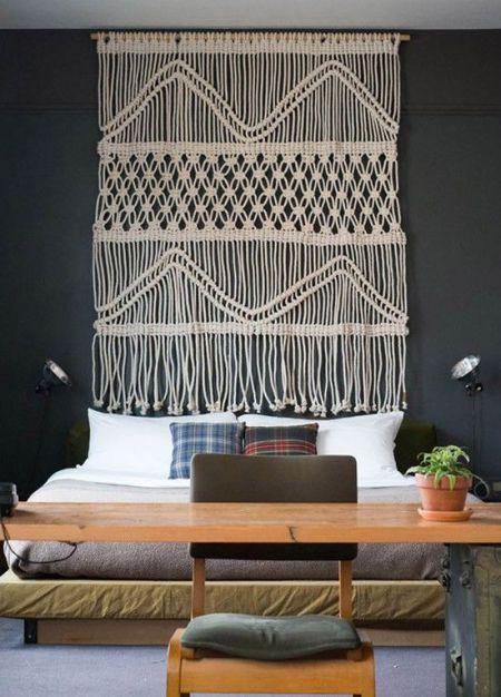 Tapices diy ideales para decorar tus paredes