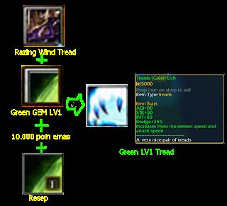 green LV1 tread defend konoha