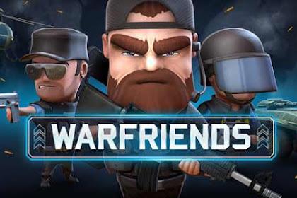 Download WarFriends Mod APK v1.2.1 Update April 2017 (Mega Mod) Gratis