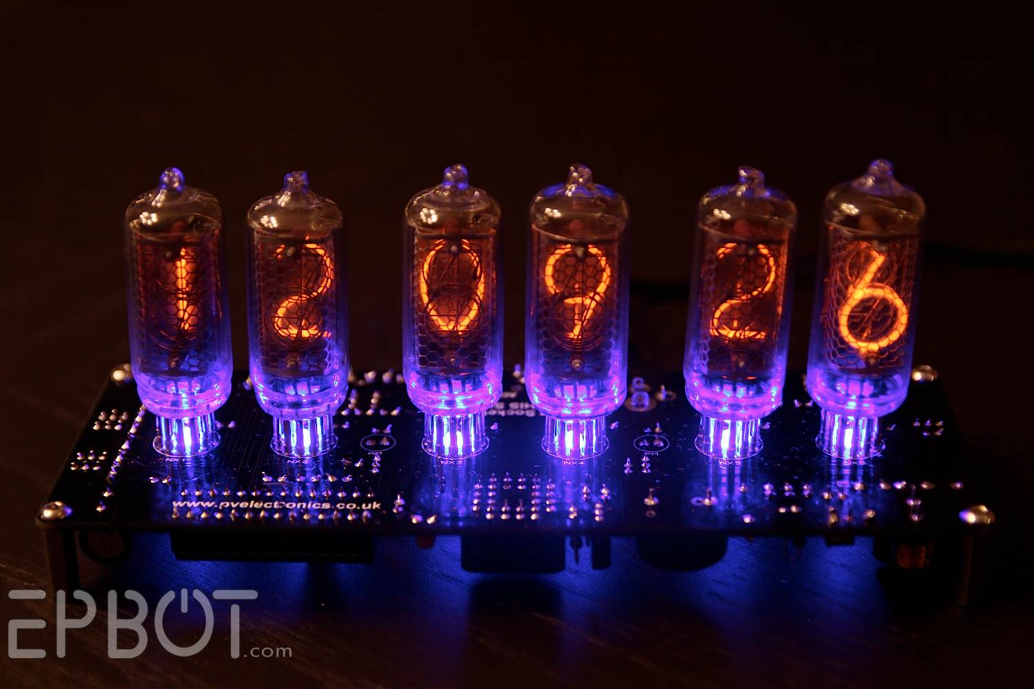 Epbot Achievement Unlocked My First Nixie Tube Clock Further On Schematic Ok Maybe The Underside Of A Circuit Board Isnt All That Impressive So How About