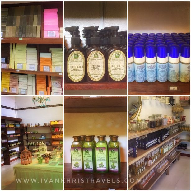 Personal care products at Sonya's Garden