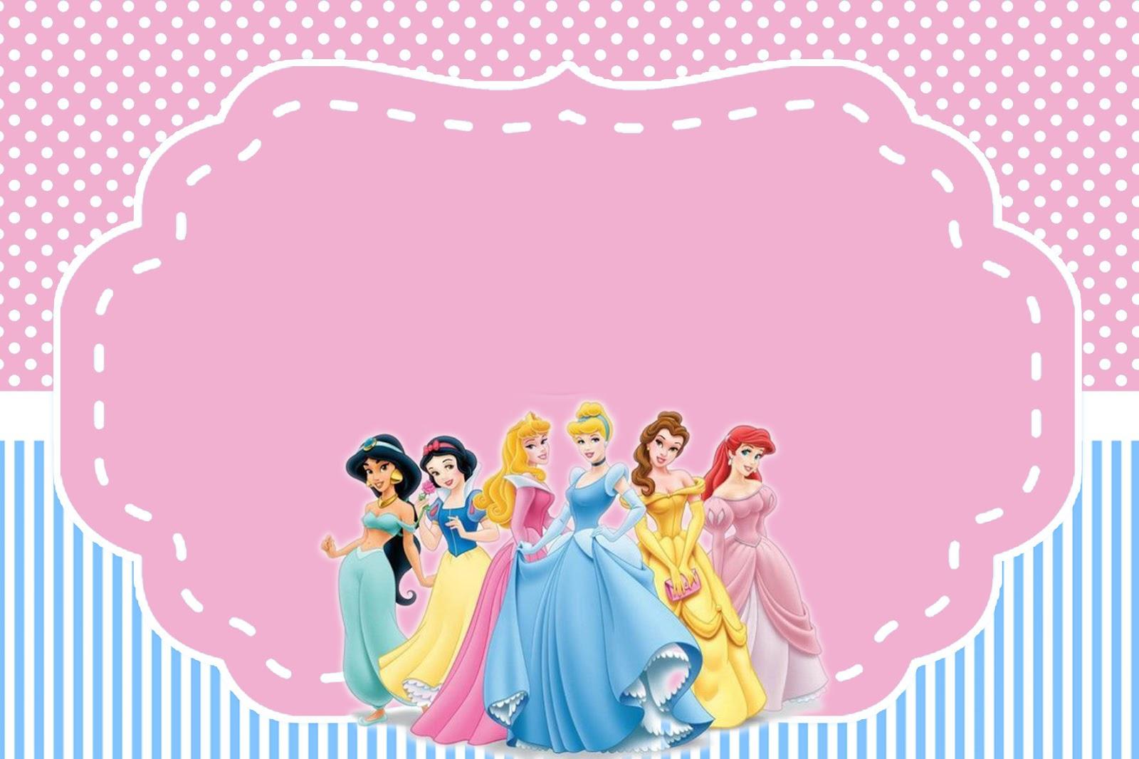Kit Princesas Disney Para Imprimir Gratis Mimo Kids