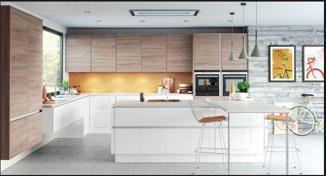 Thiết kế bếp đẹp với phụ kiện tủ bếp inox cao cấp