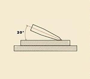 Как правильно точить ножи?