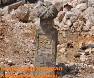 Karacaoğlan'ın mezarı Karaman'da bulundu