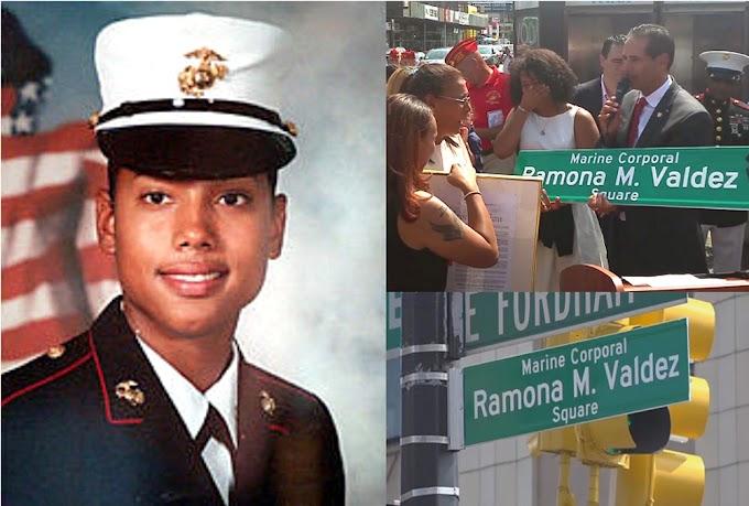 Renombran esquina de El Bronx en honor a soldado dominicana muerta en Irak en 2005