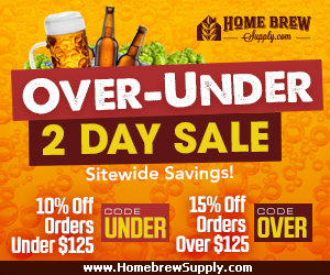 Home Brew Supply Sale