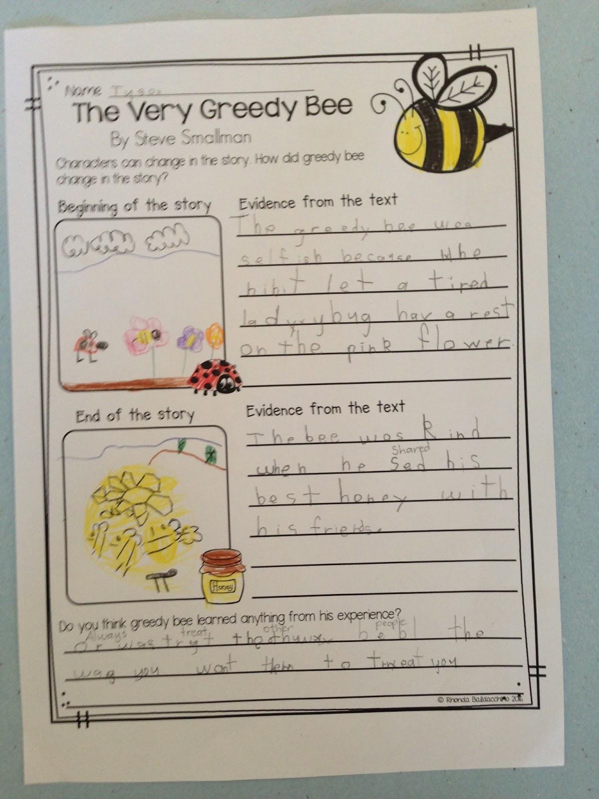 Classroom Fun The Very Greedy Bee