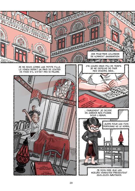 L'épouse Yéménite aux édtions Des Ronds dans l'O page 29
