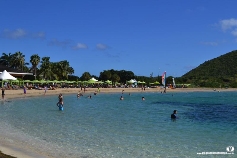 Praias em St Kitts