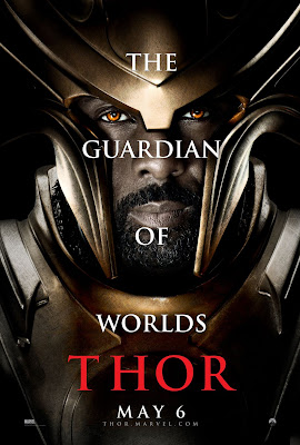 Thor Character Movie Poster Set 1 - Idris Elba as Heimdall, The Guardian of Worlds