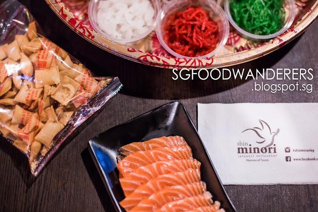 Shin Minori: CNY 1-For-1 Lo Hei Yu Sheng (捞魚生) and A La Carte Japanese Buffet