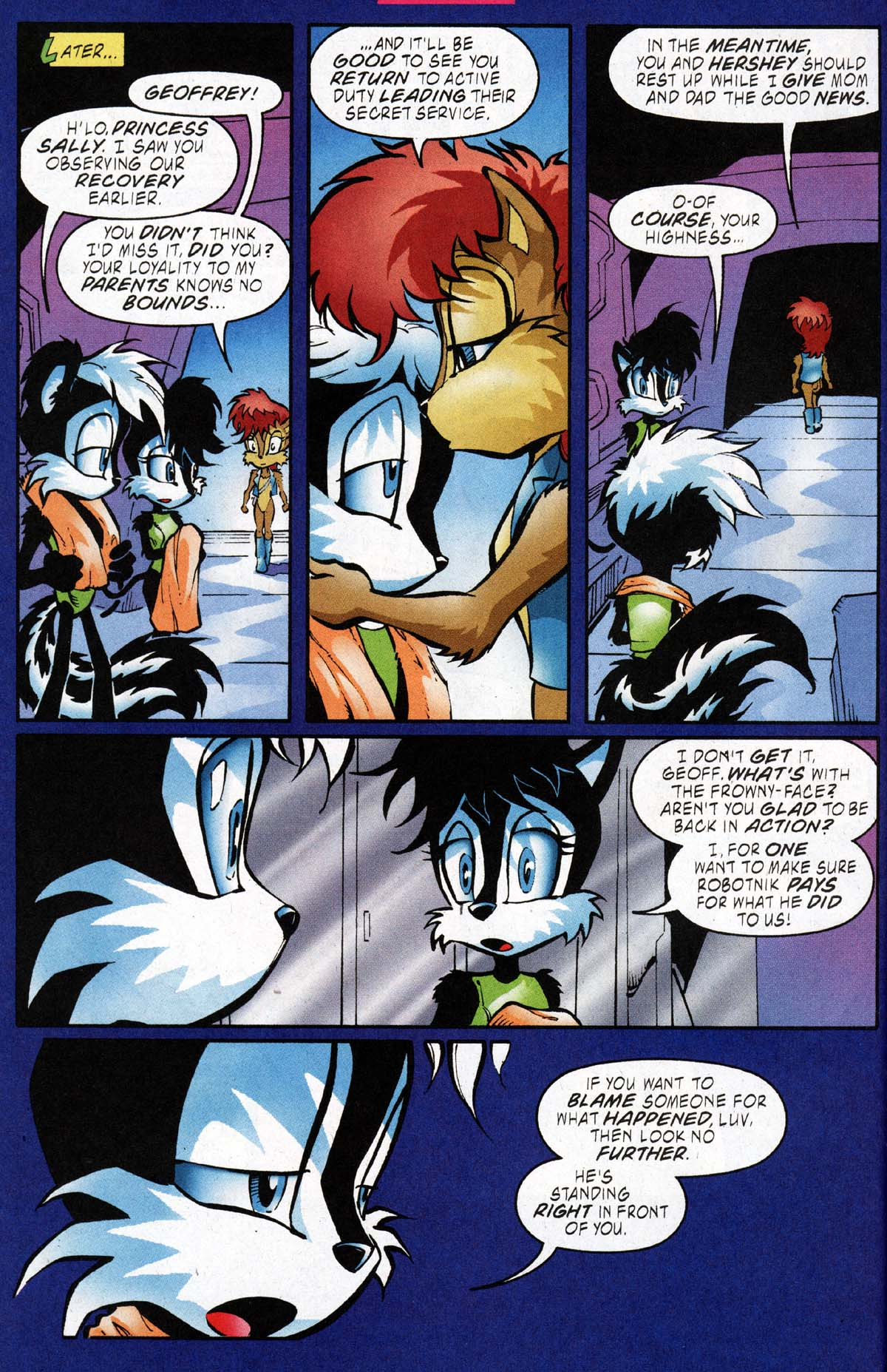 Read online Sonic The Hedgehog comic -  Issue #118 - 15