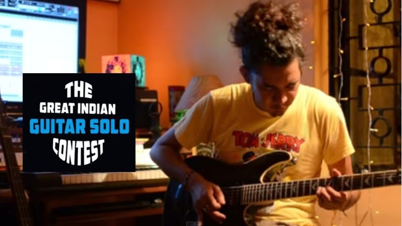 Sharad Dipesh Diyali  wins the Great Indian Guitar Solo Competition