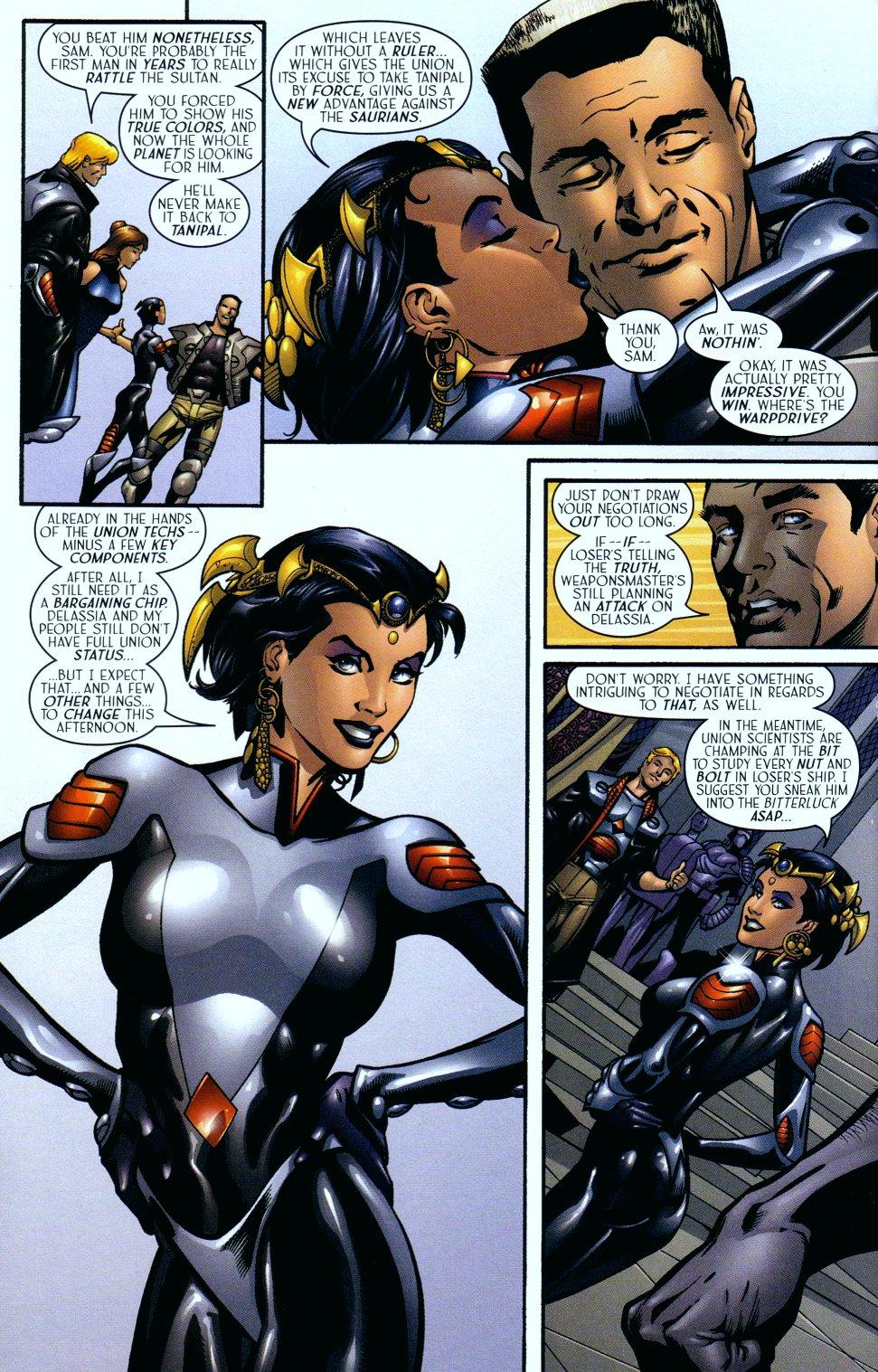 Read online Sigil (2000) comic -  Issue #14 - 19