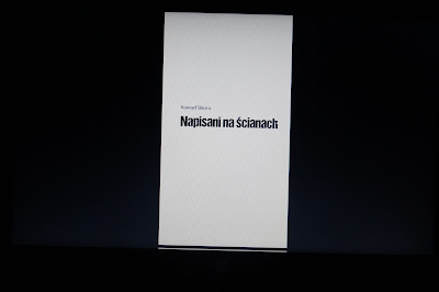 """Napisani na ścianach"" Konrad Sikora"