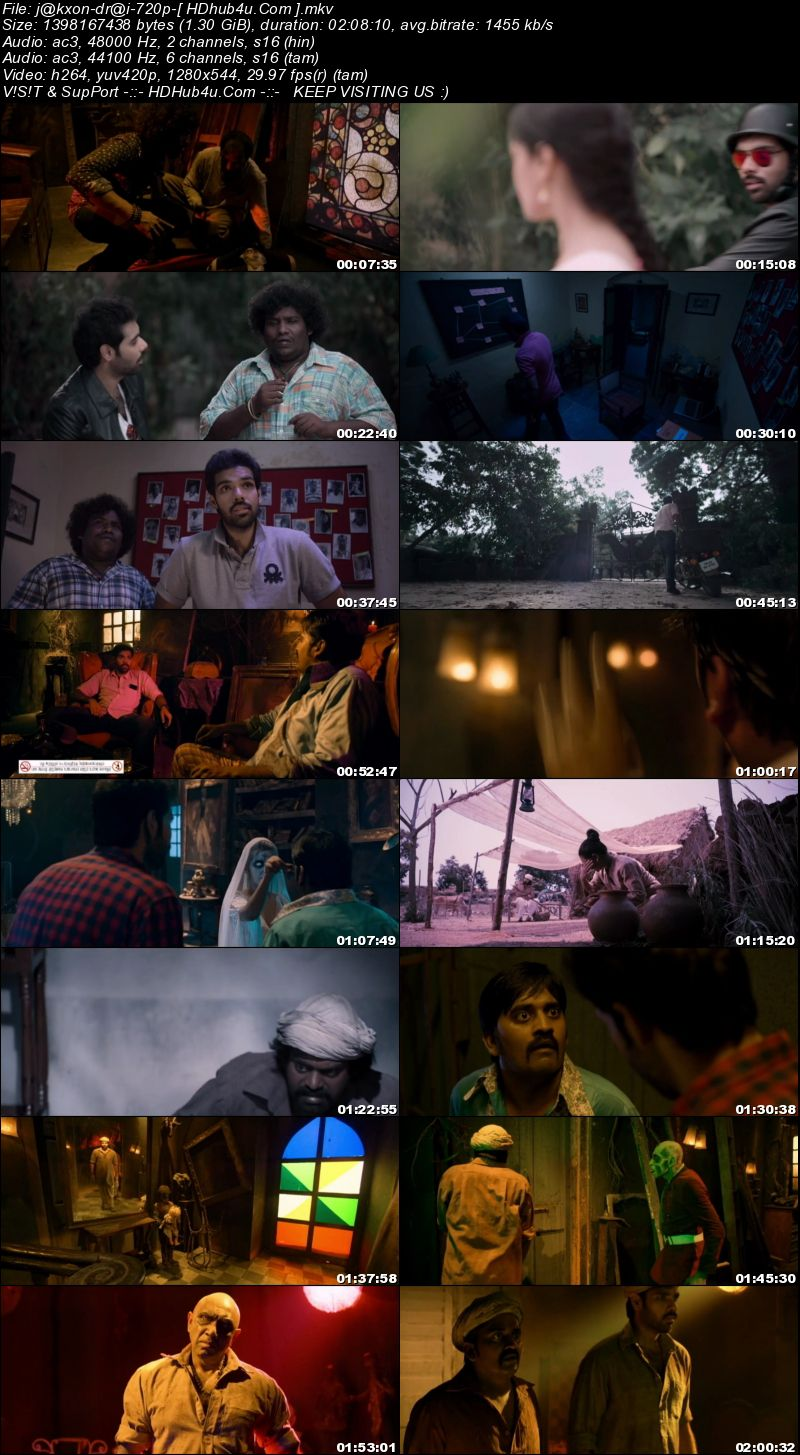 Jackson Durai 2016 UNCUT Hindi Dual Audio 720p HDRip 1.3GB Download