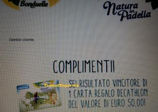 Logo Vinci anche tu le Card Decathlon da 50 euro: sei ancora in tempo