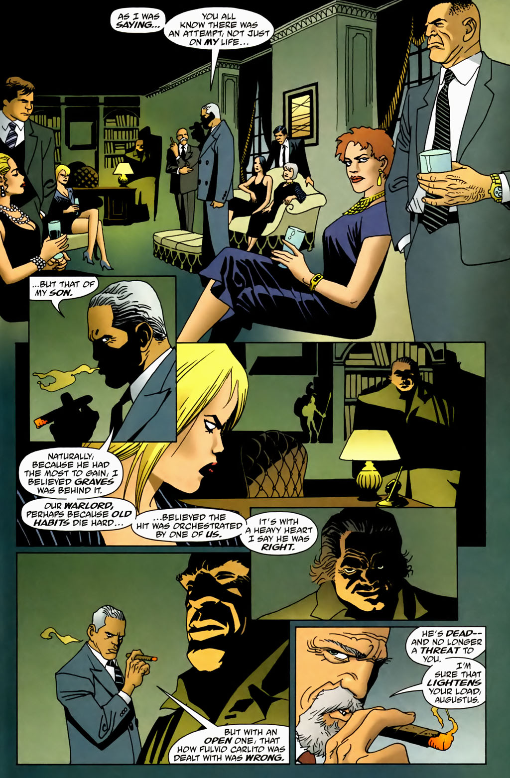 Read online 100 Bullets comic -  Issue #70 - 18