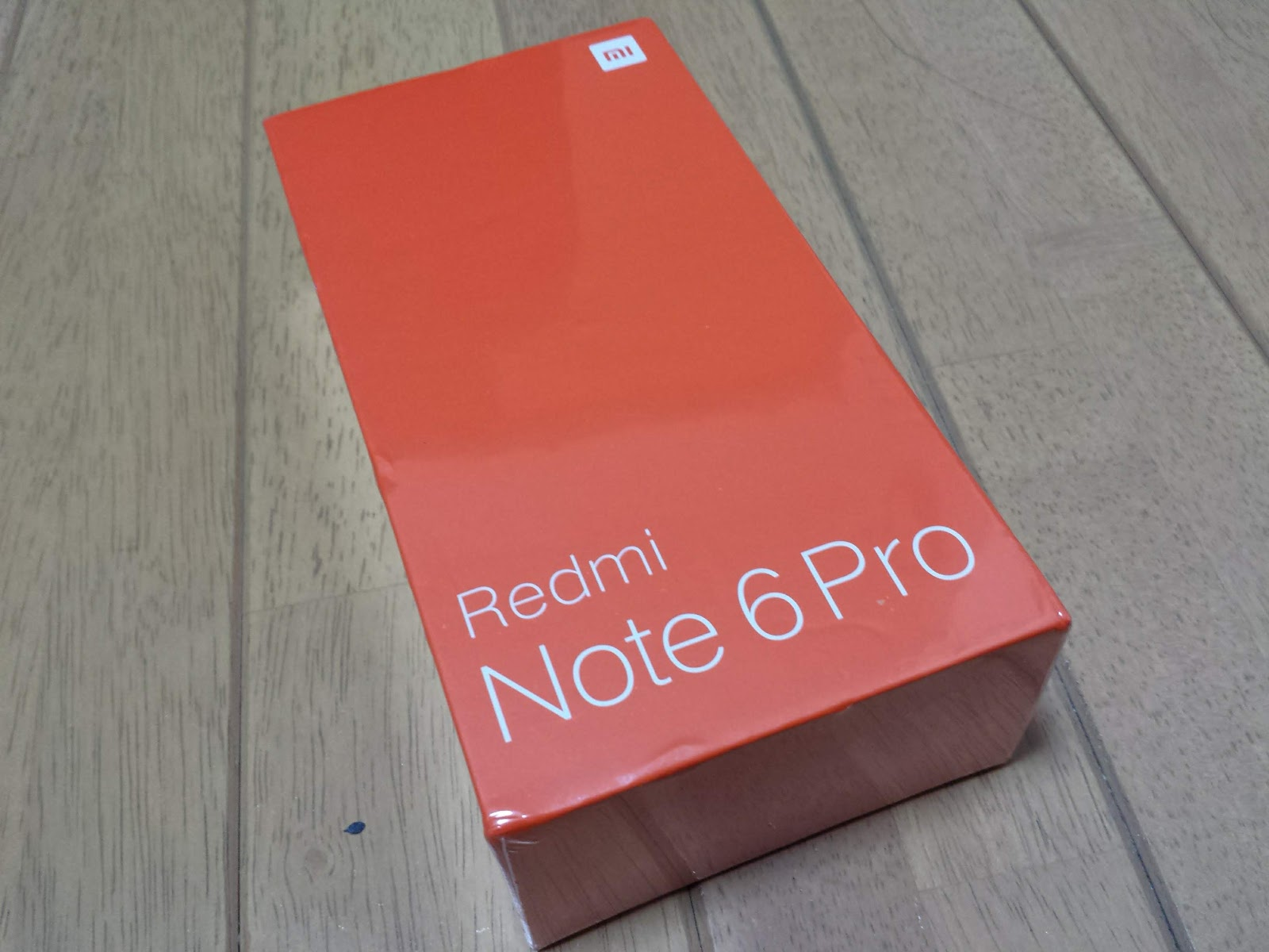 xiaomi redmi note 6 proが着弾