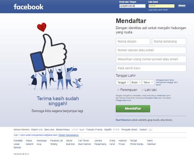 Tips Paling jitu PDKT lewat Facebook